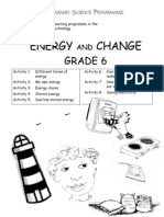 Energy and Change [Grade 6 English]
