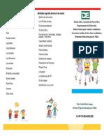 Prontuario Kindergarten 2013-2014