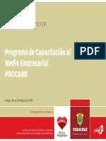 PRESENTACION PROCAME 2009