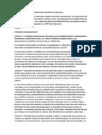 Principios Fundamentales de La Republica Bolivariana de Venezuela