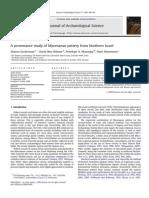 Zuckerman Et Al. a Provenance Study of Mycenaean Pottery From Northern Israel, 2010