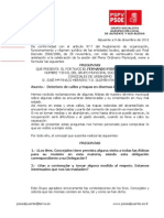 Preguntas Pleno 13-12-2011 Concejales Urbanismo