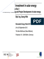04 Hille - Investment in Solar Projects
