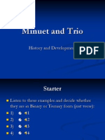 Minuet and Trio