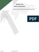 Sample Test SLDP