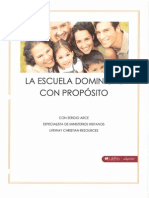 La Escuela Dominical Con Proposito