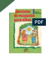 Vilas Boas Magda - Ejercicios De Relajacion Para Niños