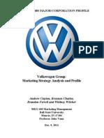 Volkswagen Final Paper