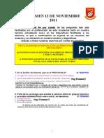 Examen Pn 2011 (29 Preguntas)