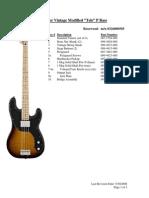 Vintage Modified P Bass TB