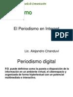 El Periodismo en Internet-Estudiantes