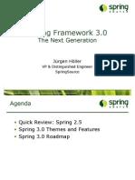 Spring Framework 3.0, The Next Generation