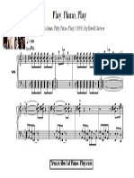 Transcription - Play, Piano, Play by Erroll Garner