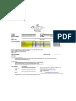 Paradisus Registration Form