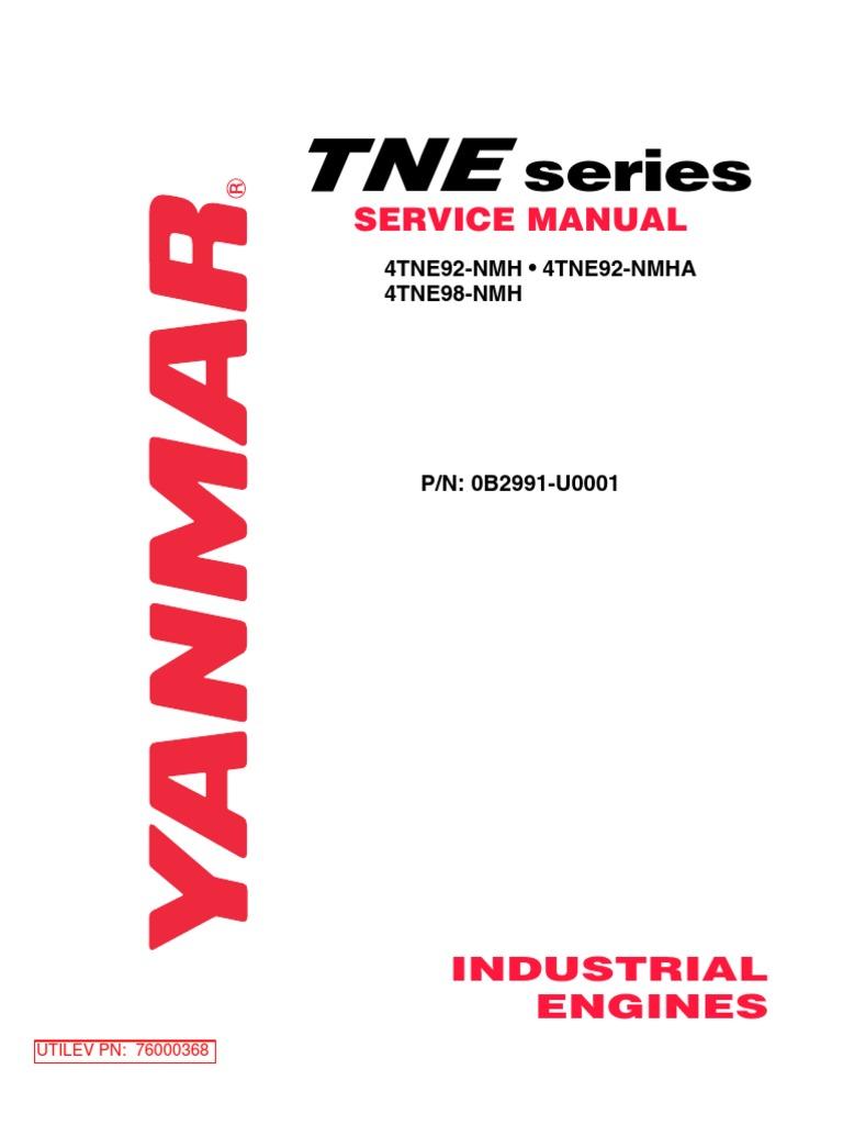 Pleasant Service Manual Yanmar Internal Combustion Engine Motor Oil Wiring Digital Resources Pelapshebarightsorg