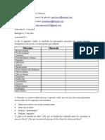 2DA ACTIVIDAD DE 1ERO A 5TO AÑO mUJERES Y VARONES