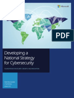 Developing a National Strategy for Cybersecurity