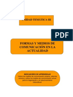 Formas y Medios de Comunicacion