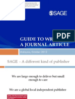 Simple Guide to Writing a Journal Article - Summary       2012.pdf