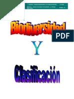 Biodiversida y Clasificacion