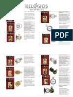 Lista de Edições Relógios Históricos