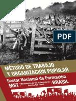 Metodo de trabajo y organizacion popular MST de Brasil.pdf