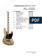 Vintage Modified J Bass 70's- Service RH & LH