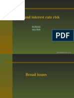 Banks and Interest rate risk