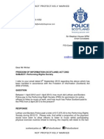 Lothian and Borders Police and the PRS