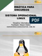 Módulo I - Sistema Operacional LINUX