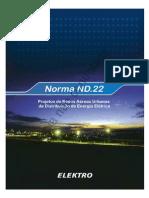 ND.22 - Projetos de Redes Urbanas