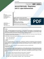 NBR_14859-2_-_2002_-_Laje_pré-fabricada_–_Requisitos_-_Parte_2_-_Lajes_bidirecionais
