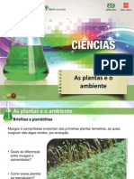 Ciencias7 as Plantas e o Ambiente