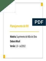 02-deboramicelisuprimentosdemodeobraplanejamentodepessoalv1-120826121446-phpapp01