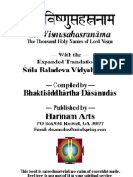 Gaudiya Vishnu Sahasranama
