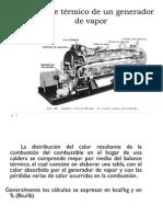 2.6. Balance Termico de Un Generador de Vapor