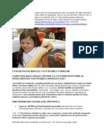 Refuzarea Legala a Vaccinarii