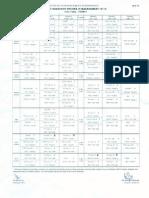 Time Table Term V 29.09.13 - 6.10.13
