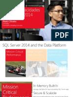 Ms Tech Series - SQL Server 2014 Nuevas Capacidades