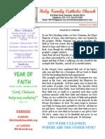 hfc october 12-13 2013 bulletin