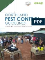 Pest Control Guideline June 2013