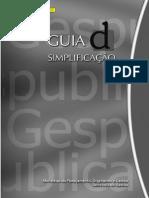 GESPUBLICA - Guia_D'Simplificacao