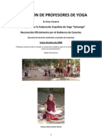 Formacion de Profesores de Yoga Cartel Public Id Ad