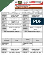 PROGRAMAS  DE ESPECIALIZACIÓN DOCENTE 2012