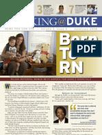 Working@Duke - June/July, 2008