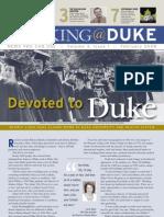 Working@Duke - February, 2008