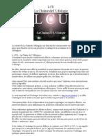 LCU La Chaine de l'Ufologie
