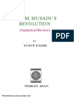 Imam Hussain (a.s.) Revolution - Analytical Review