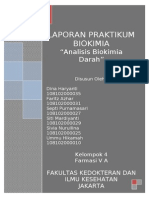 Laporan 1 (Analisis Biokimia Darah)