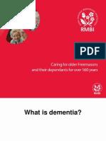 RMBI Dementia Presentation